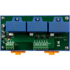 DN-843I-CT-1 CR, ICP DAS Co, Серия DN-800, Развязки