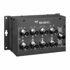 NSM-208-M12, ICP DAS Co, Неуправляемые Ethernet коммутаторы, Коммутаторы