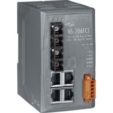 NS-206FCS CR, ICP DAS Co, Промышленные медиаконвертеры, Коммутаторы