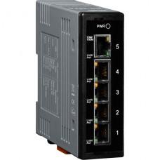 NS-205A CR, ICP DAS Co, Неуправляемые Ethernet коммутаторы, Коммутаторы