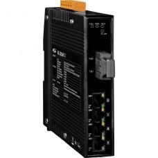 NSM-205AFC-T CR, ICP DAS Co, Промышленные медиаконвертеры, Коммутаторы