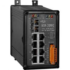 NSM-209FC CR, ICP DAS Co, Промышленные медиаконвертеры, Коммутаторы
