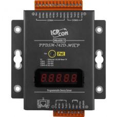 PPDSM-742D-MTCP CR, ICP DAS Co, Программируемые серверные устройства, Интерфейсы