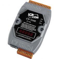 GW-7434D-G CR, ICP DAS Co, Интерфейсы, Шлюзы