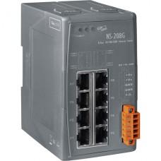 NS-208G CR, ICP DAS Co, Неуправляемые Ethernet коммутаторы, Коммутаторы