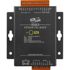 PPDSM-743-MTCP CR, ICP DAS Co, Программируемые серверные устройства, Интерфейсы