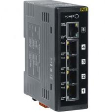 NS-205PSE CR, ICP DAS Co, Неуправляемые Ethernet коммутаторы, Коммутаторы