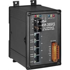NSM-205FCS CR, ICP DAS Co, Промышленные медиаконвертеры, Коммутаторы