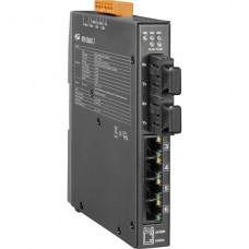 NSM-206AFC-T CR, ICP DAS Co, Промышленные медиаконвертеры, Коммутаторы