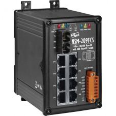 NSM-209FCS CR, ICP DAS Co, Промышленные медиаконвертеры, Коммутаторы