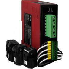 PM-3112-100, ICP DAS Co, 4-контурнные, 1-фазные компактные измерители напряжения и тока, Серия Smart