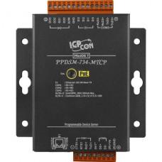 PPDSM-734-MTCP CR, ICP DAS Co, Программируемые серверные устройства, Интерфейсы