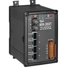 NSM-205FT CR, ICP DAS Co, Промышленные медиаконвертеры, Коммутаторы
