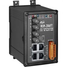 NSM-206FT CR, ICP DAS Co, Промышленные медиаконвертеры, Коммутаторы