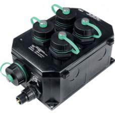 NS-205PSE-IP67 CR, ICP DAS Co, Неуправляемые Ethernet коммутаторы, Коммутаторы